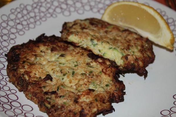 Chicken galettes