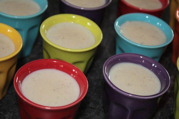 Crème dessert à la vanille