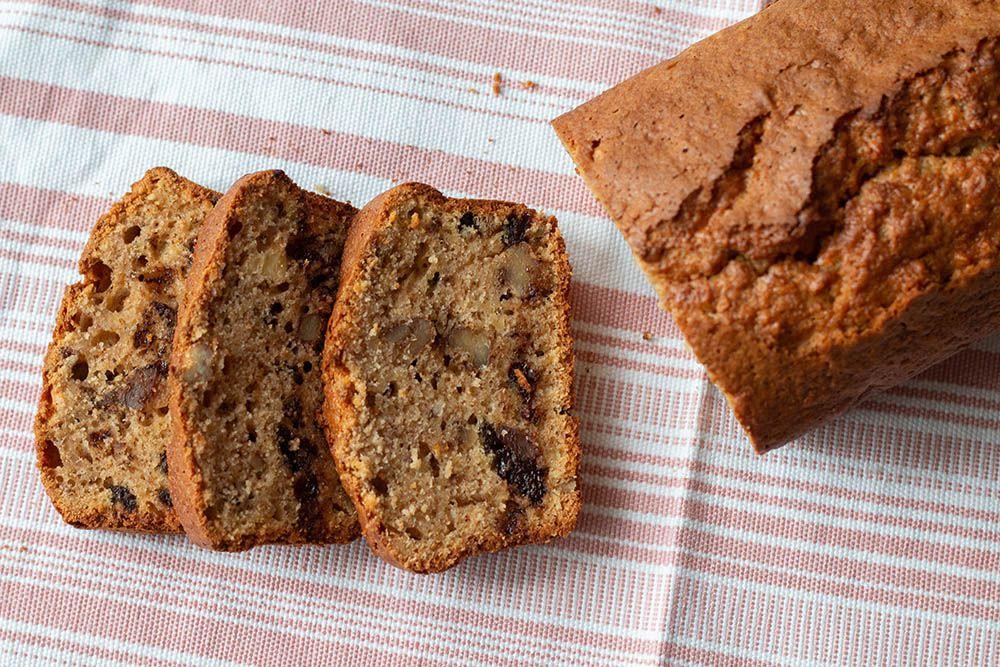 Cake pomme noix et cannelle (au Thermomix ou sans)