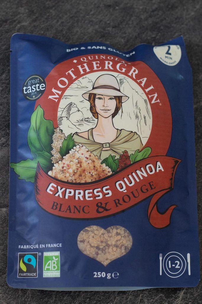 Galettes Quinoa et Courgettes et présentation de La box Généreuse par Quinola