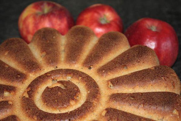 Pain aux pommes râpées
