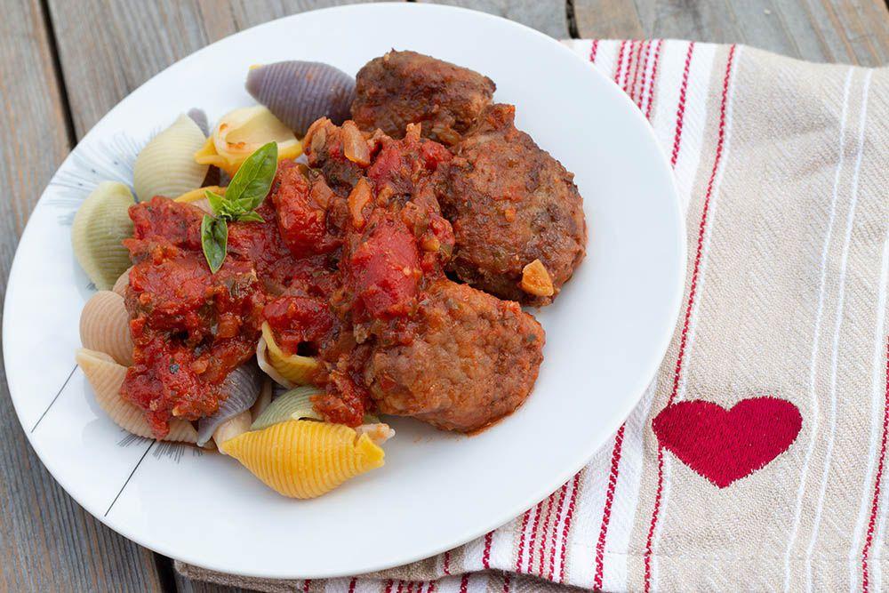 Polpette ou boulettes de viande à l'italienne