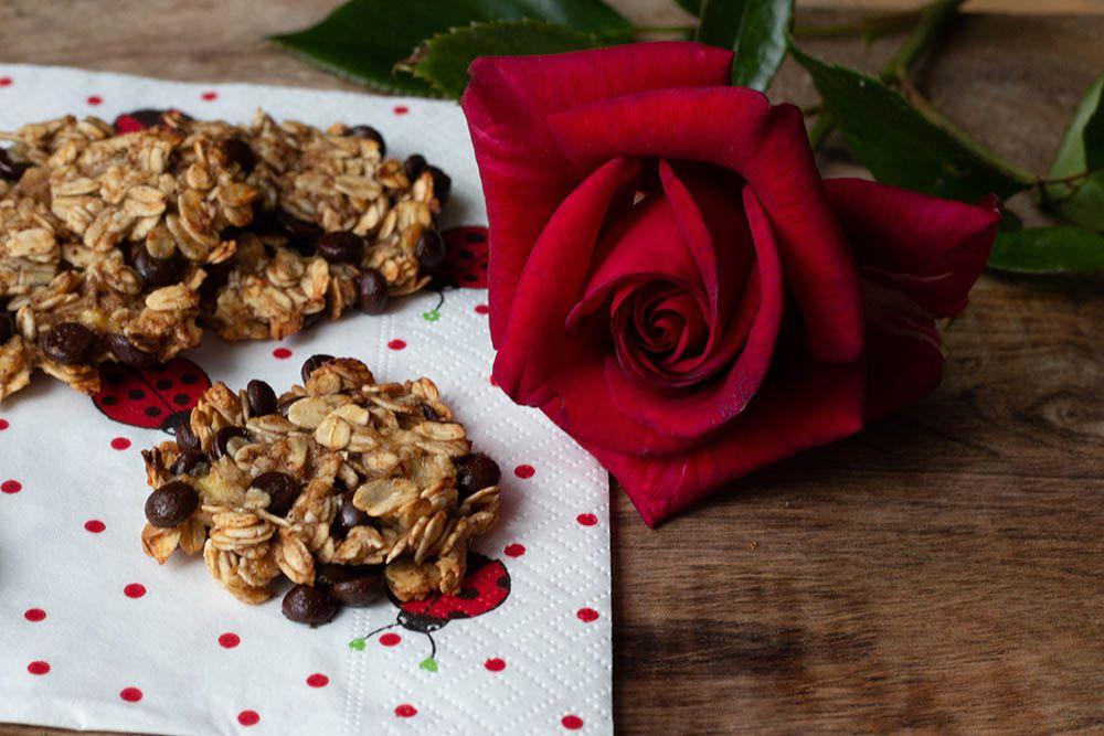 Cookies aux flocons d'avoine (sans farine, sans oeuf, sans beurre, sans sucre)