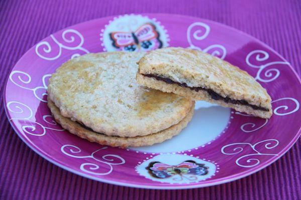 Biscuits Princiers au chocolat