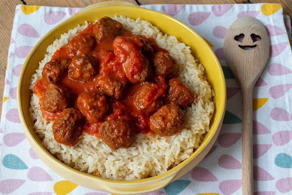 Boulettes de viande à l'indienne (au Cookeo)