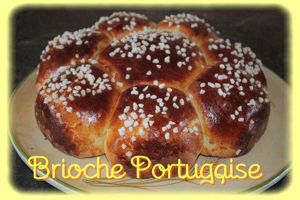 Brioche portugaise