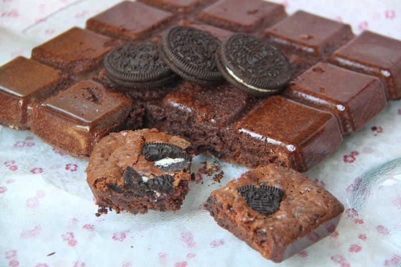 Brownies aux Oreo
