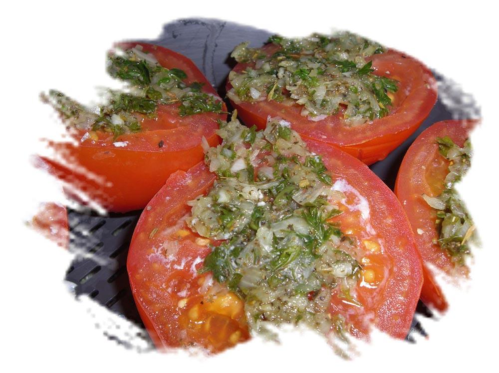 Poissons et tomates à la provençale