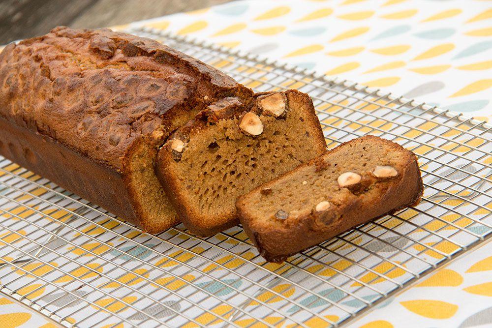 Cake au Rapadura et aux Noisettes