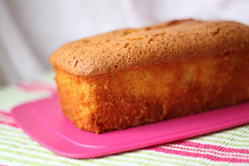 Cake financier à l'orange de Philippe Conticini
