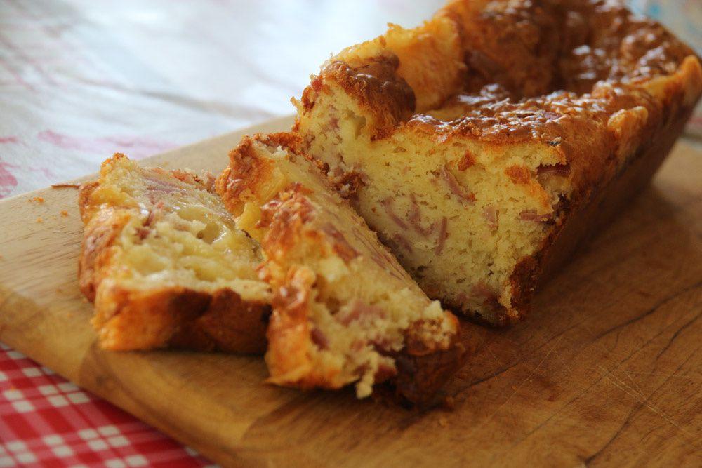 Cake jambon - raclette