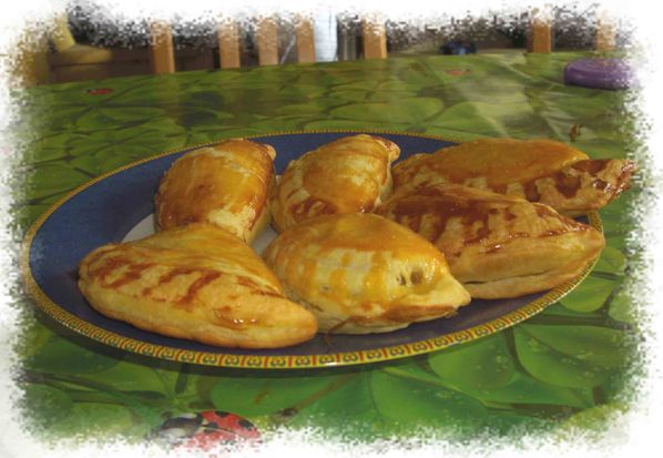 Chaussons pomme-banane
