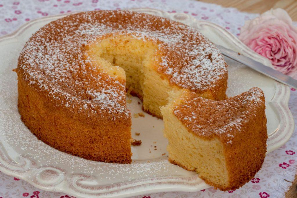 Chiffon Cake à l'orange (au Thermomix ou sans)