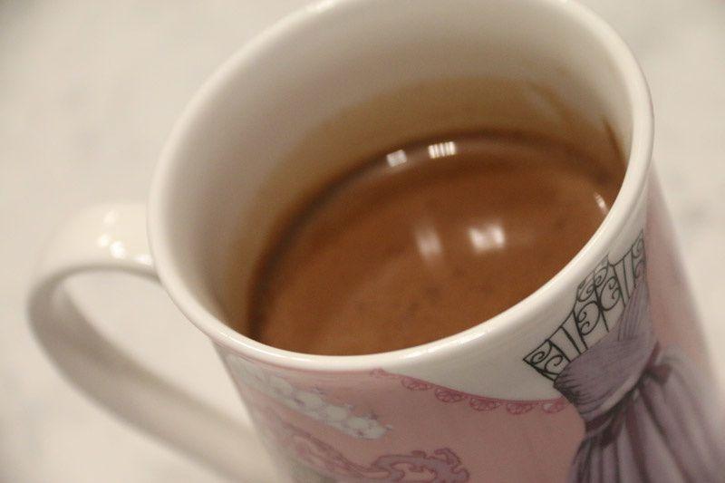 Chocolat chaud épicé réconfortant (au Thermomix ou sans)