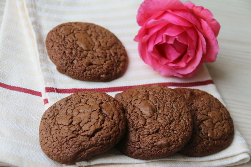 Cookies croquants au chocolat