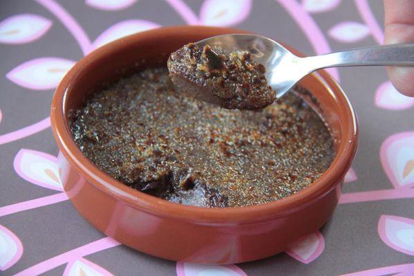 Crème brûlée au chocolat de Pierre Hermé