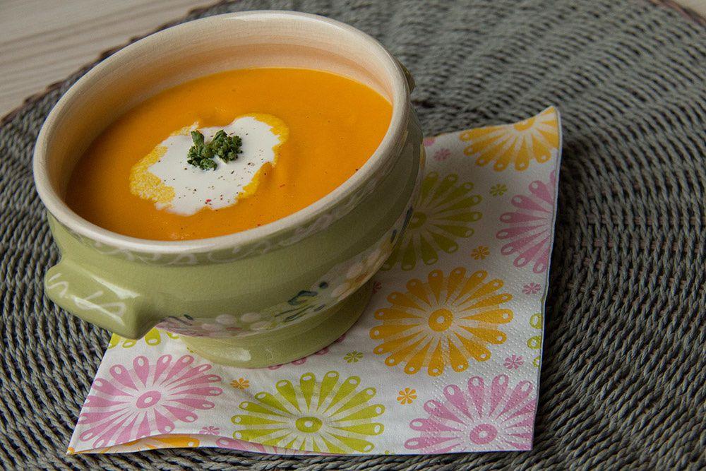 Crème de carottes (au Thermomix ou sans)