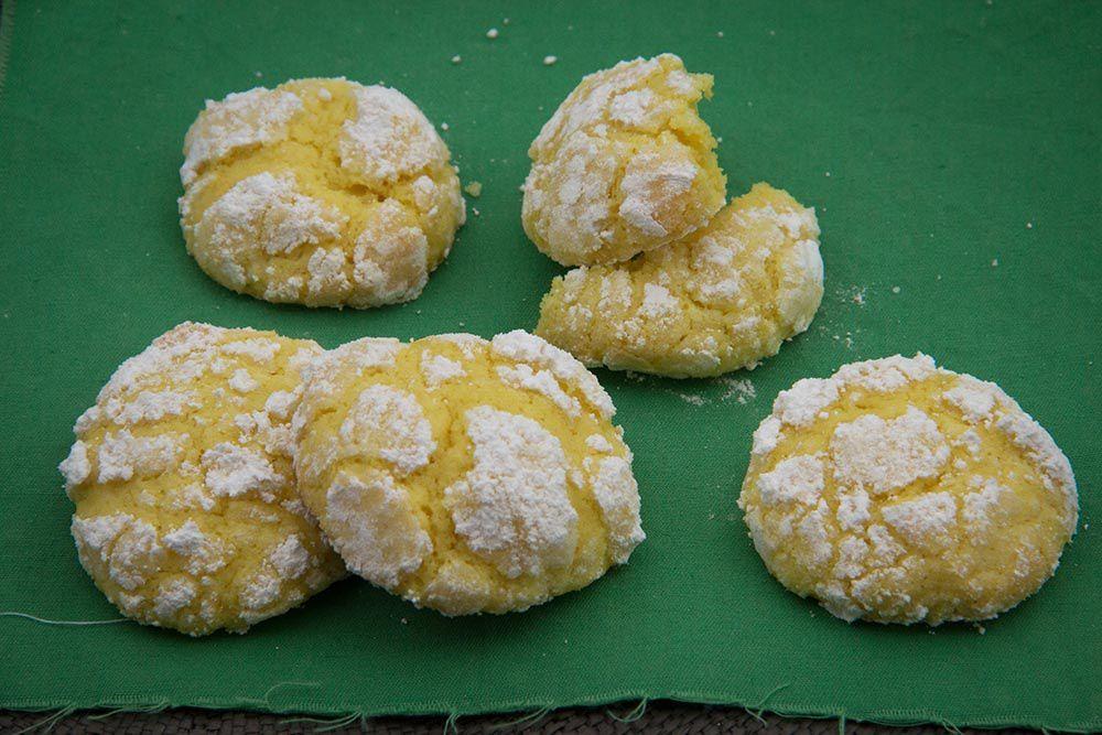 Crinkles au citron - Lemon Crinkles