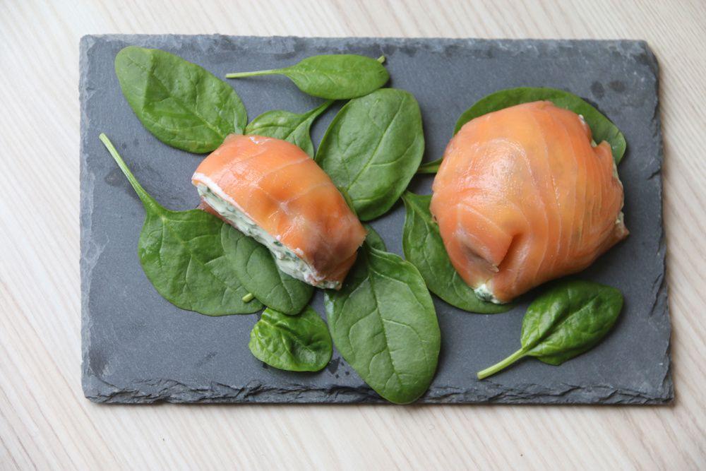 Dômes de saumon fumé (recette Tupperware)