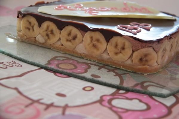 Entremet Nutella - Banane