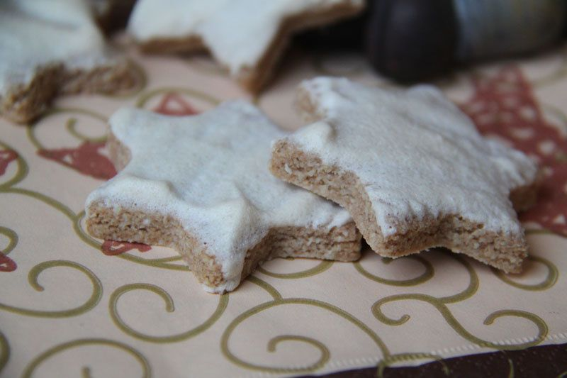 Etoiles des neiges (recette Tupperware - Sans Gluten)