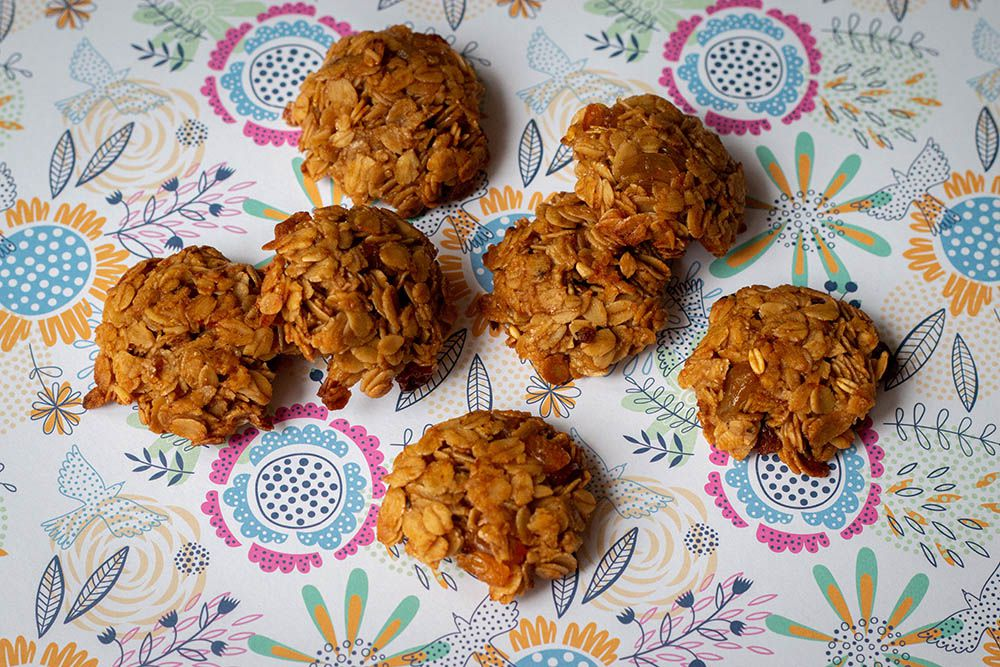 Flapjack coquilles