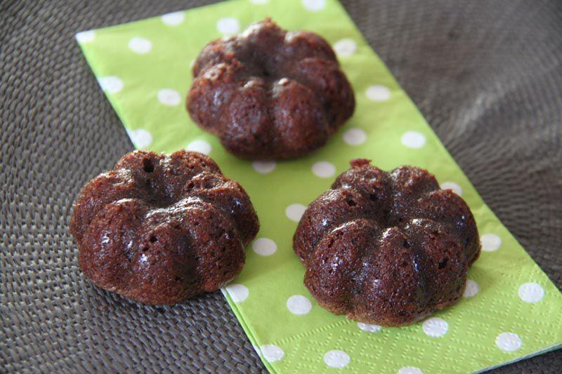 Fondants au chocolat (recette Tupperware)