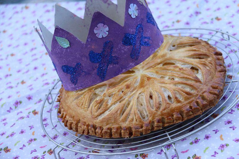 galette des rois amandes - pommes et Spéculoos