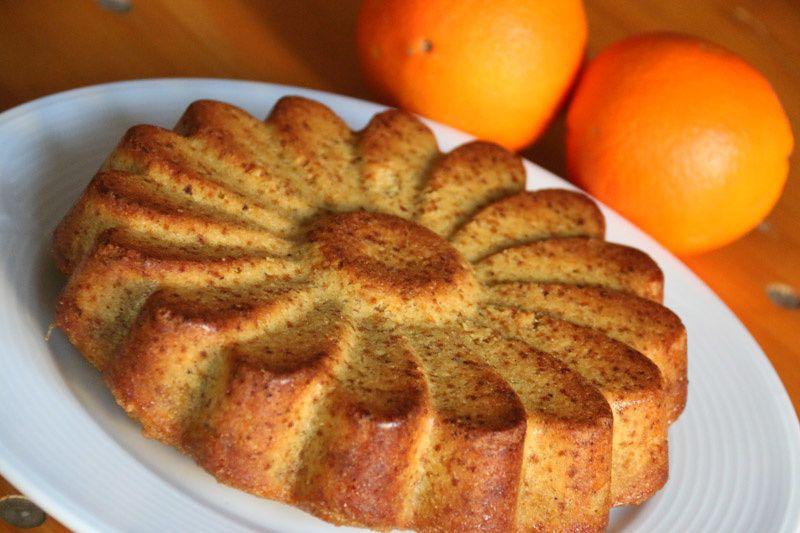 Gâteau à l'orange - sans lait et sans gluten