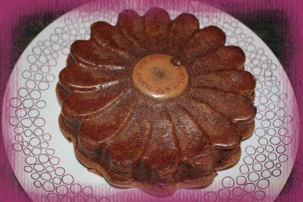 Gâteau au Chocolat Bellevue de Christophe Felder (Gâteau sans beurre)
