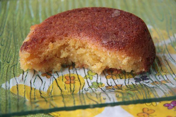 Gâteau au citron à la polenta (gâteau sans farine)