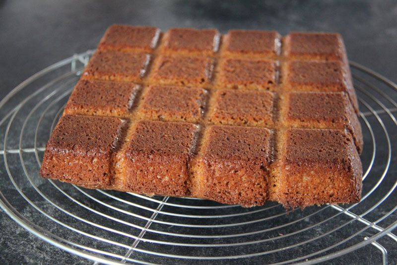 Gâteau aux Spéculoos