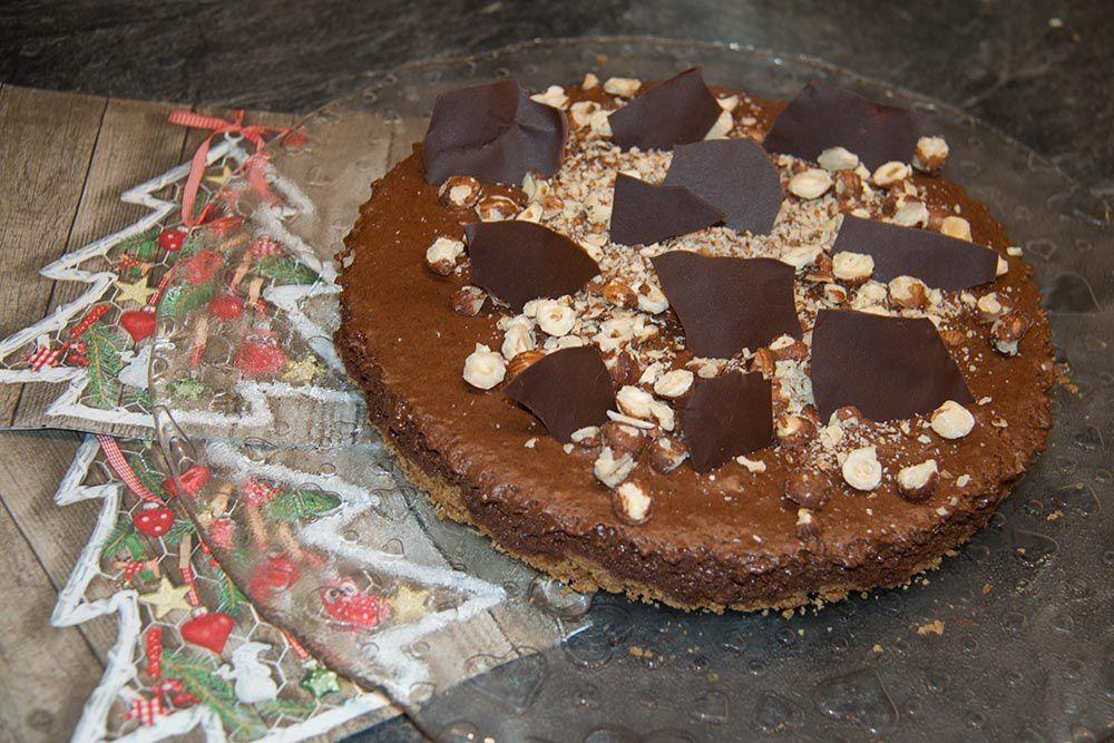 Gâteau chocolat - noisette (au Thermomix ou sans)