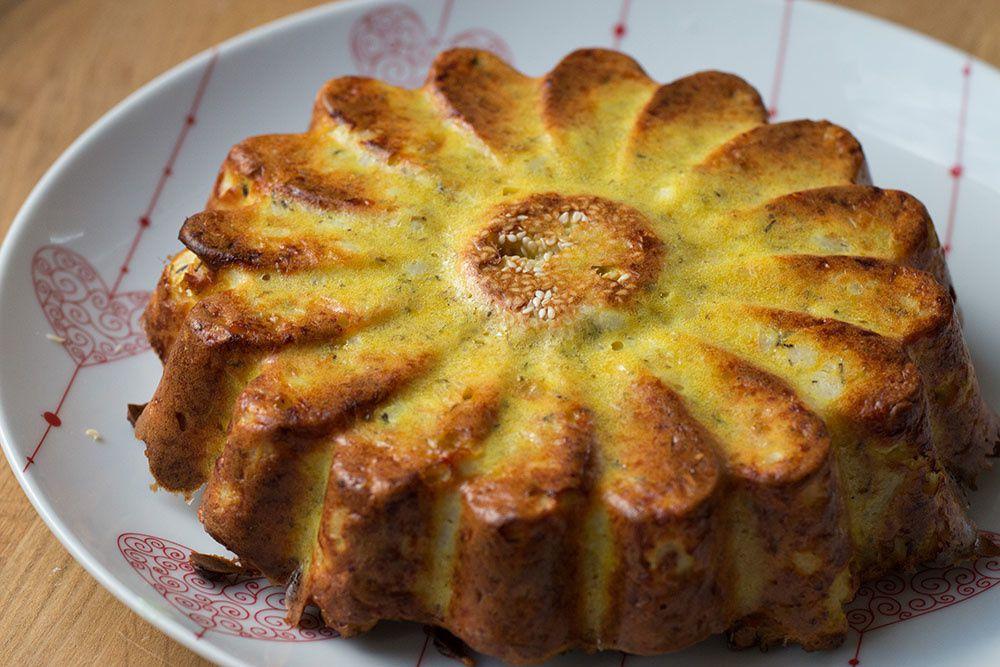 Gâteau de chou-fleur selon Yotam Ottolenghi