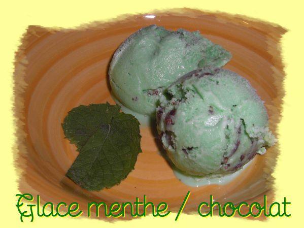 Glace Menthe - Chocolat