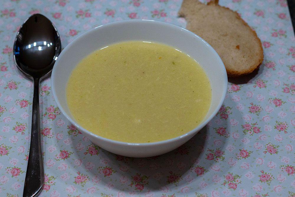 Griessuppe (potage à la semoule grillée) (recette alsacienne)