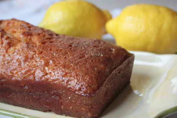Irish Lemon Cake (cake au citron irlandais)