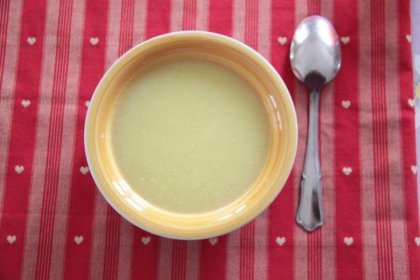 Julia Child's potage parmentier