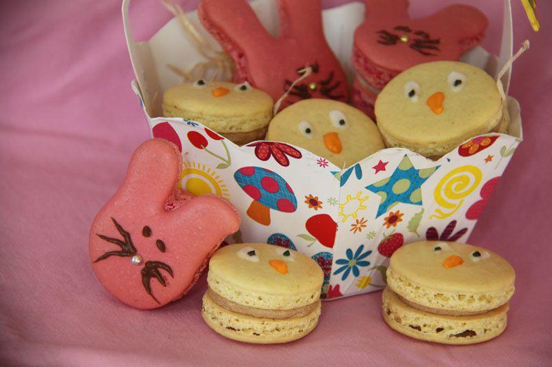 Macarons Lapins de Pâques