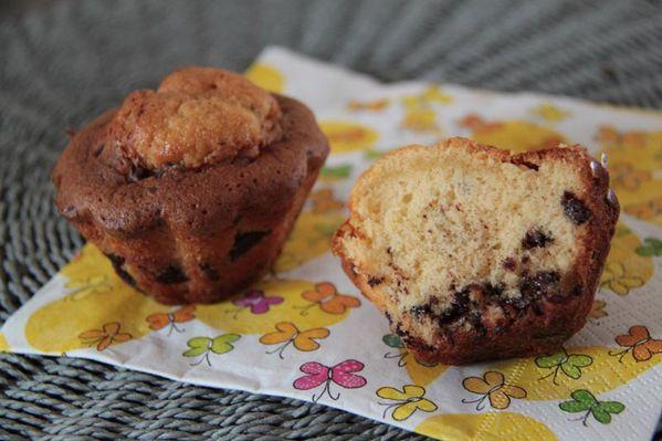 Madeleines à la vanille et au chocolat de Philippe Conticini
