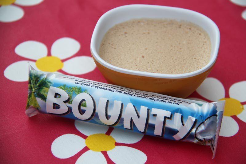 Mousse régressive au Bounty