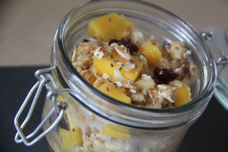 Muesli Détox à la mangue et aux graines de chia