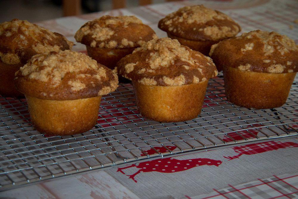 Muffins Crumble au Nutella