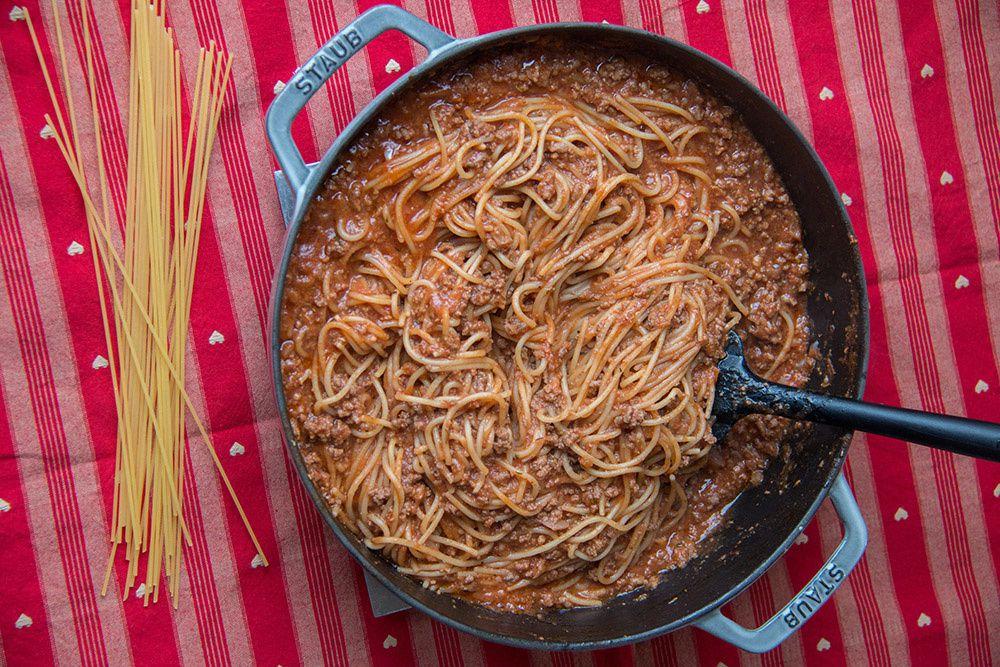 One Pot Pasta à la viande hachée