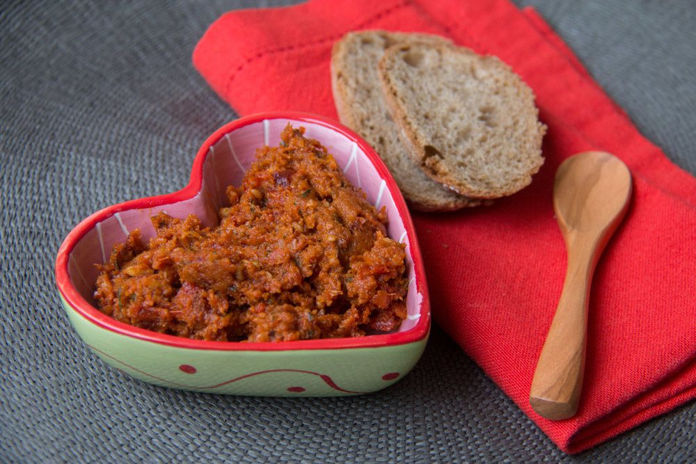 Pesto de tomates séchées (Pesto rouge)