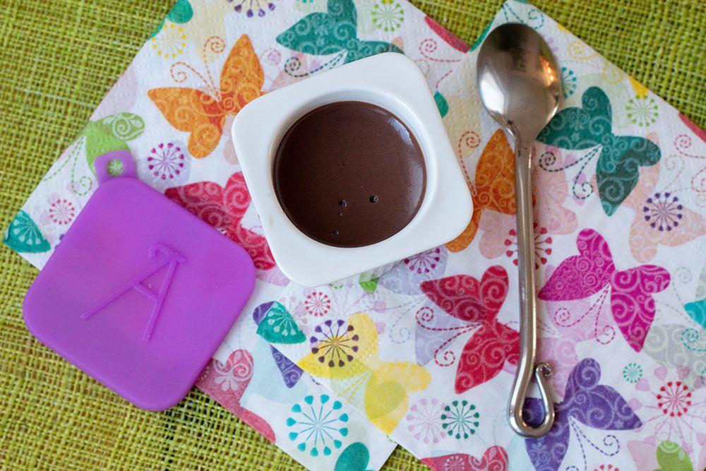 Petites Crèmes au chocolat façon Nesquik (au Thermomix ou sans)