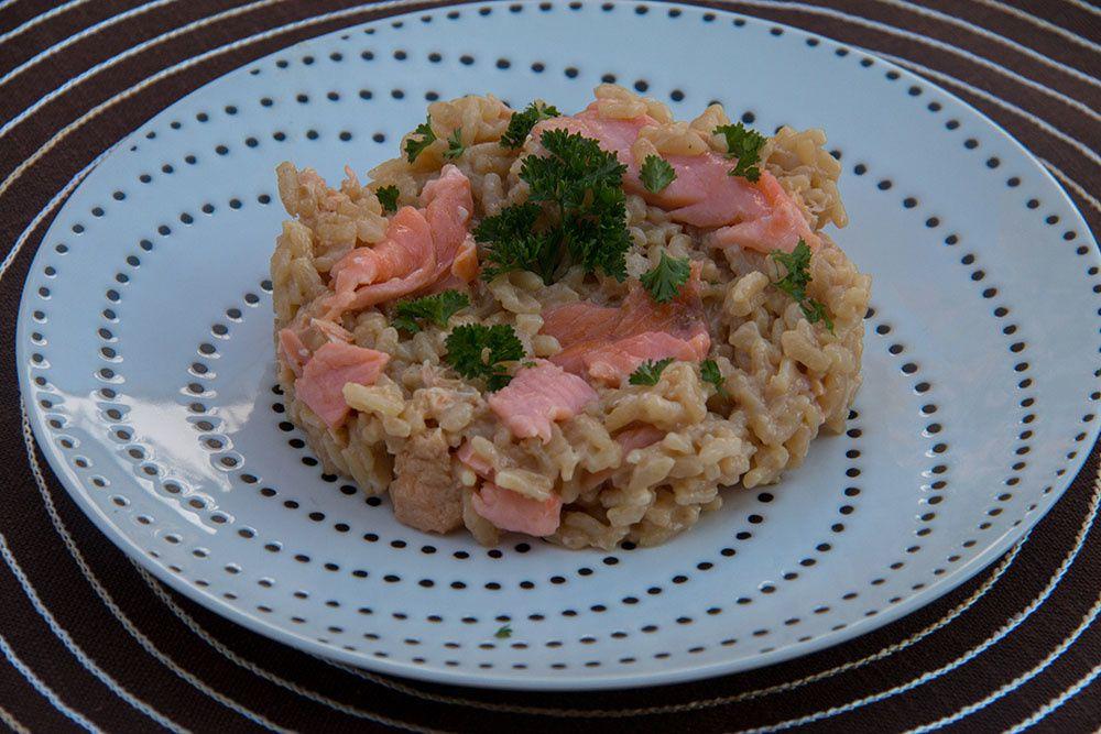 Risotto aux deux saumons (au Cookeo)