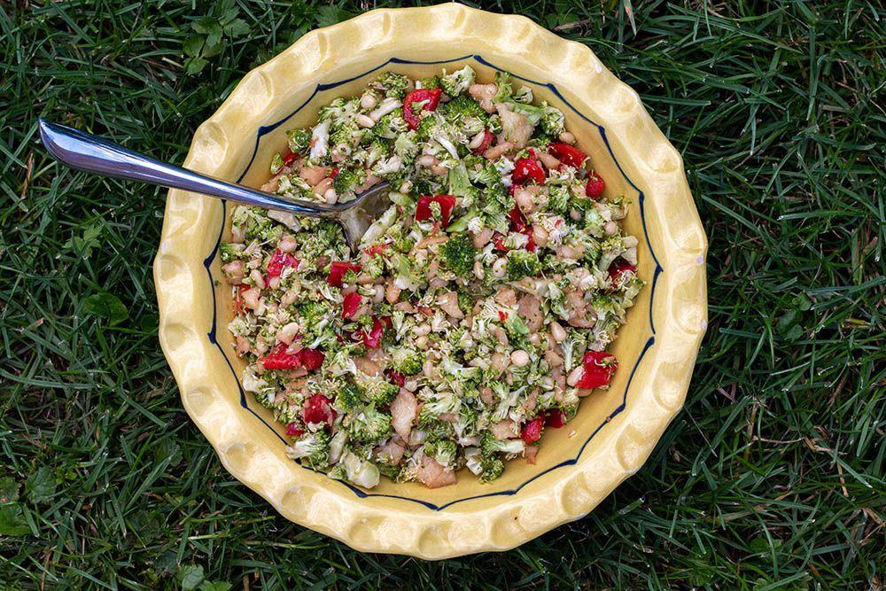 Salade de brocolis (au Thermomix ou sans)