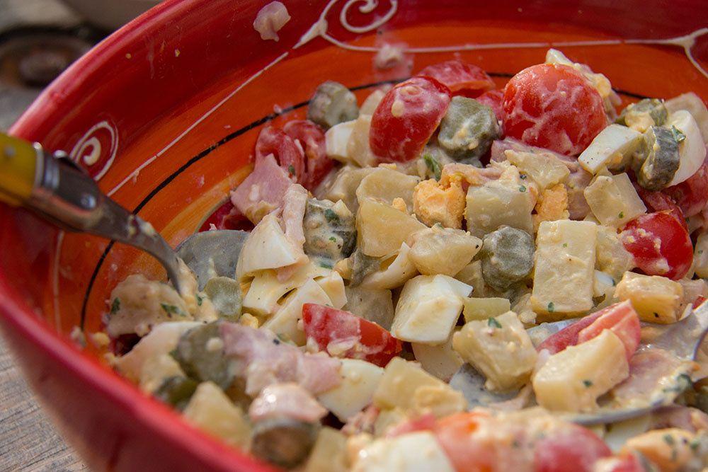 Salade piémontaise (au Thermomix ou sans)