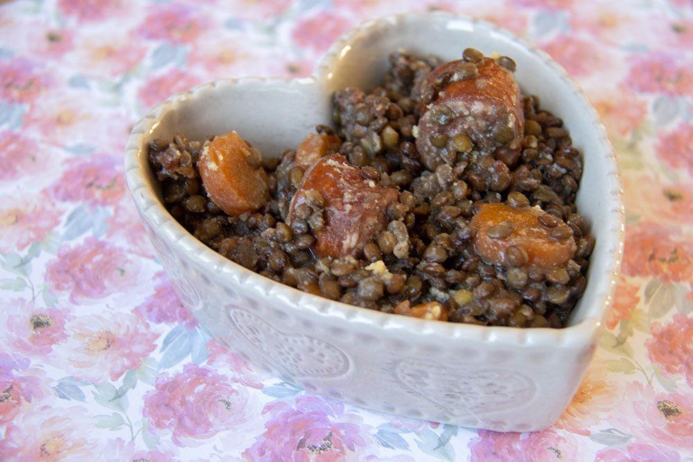 Saucisses lentilles (au Cookeo)
